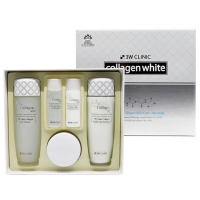 [3W CLINIC] ОСВЕТЛЕНИЕ/НАБОР для лица Collagen Whitening Skin Care Items 3 Set