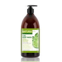 [NATURIA КОРЕЯ] Гель для душа МЯТА/ЛАЙМ Pure Body Wash (Wild Mint & Lime), 750 мл